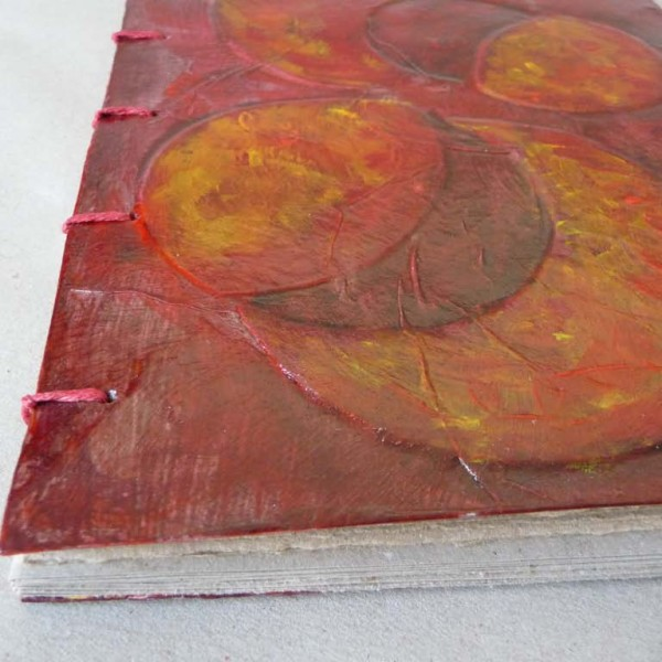 LettyvanDrie ArtJournal A5 Cirkels Rood-06